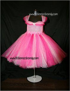 Hot Pink, Fuchsia, Pink and Light Pink Tutu Dress, Tutu Dress, Colourful Tutu Dress