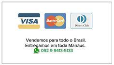 Parcele agora! Vendemos para todo o Brasil. Entregamos em Manaus