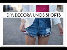 DIY Decora unos shorts