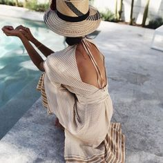Best Beachwear Brands: Faithfull the Brand Looks Chic, Looks Style, My Style, Pinterest Mode, Outfit Strand, Look Fashion, Womens Fashion, Hippie Fashion, Cooler Look