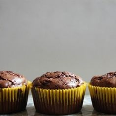 Chocolate zucchini muffins aren't usually associated with the words healthy, natural, and gluten-free, but all three of those things apply to this recipe. Light, fluffy, and moist, are three more words that aptly describe these muffins. They taste like they should not be good for you, but...