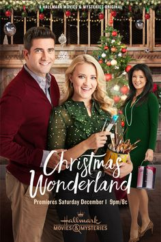 """Its a Wonderful Movie – Your Guide to Family and Christmas Movies on TV: Christmas Wonderland – a Hallmark Movies & Mysteries """"Miracles of Christmas"""" Movie starring Emily Osment & Ryan Rottman! Películas Hallmark, Hallmark Holiday Movies, Family Christmas Movies, Christmas Movie Night, Christmas Shows, Hallmark Channel, Family Movies, Christmas Dance, Christmas Christmas"""