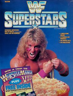 15. WWF Wrestling- they had a cereal for this?  If it's WWF, my husband probably ate it.  Ha! #KickinItAppleCheeks