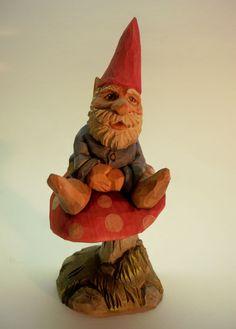 Gnome on Mushroom