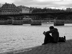 Resting by the River  Seine  Paris, France