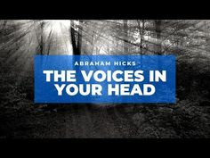 Law Of Attraction Youtube, Your Head, Get Happy, Money Today, How To Manifest, Abraham Hicks, Positive Thoughts, Peace And Love, The Voice