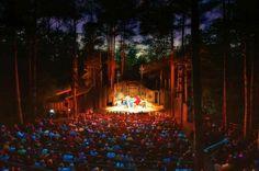 American Folklore Theatre in Peninsula State Park, Fish Creek