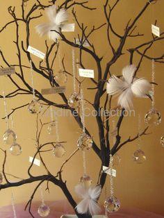 árboles de cristal para bodas espectaculares