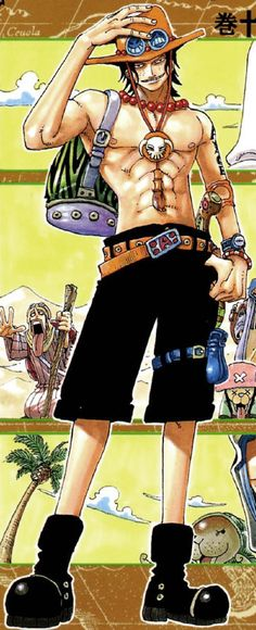 Portgas D. Ace - One Piece,Anime