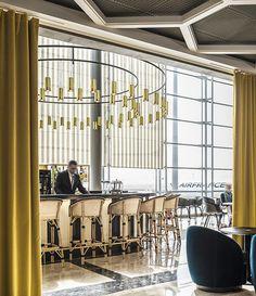 Il ristorante firmato India Mahdavi nel cuore di Paris-Charles De Gaulles   DESIGNTHEPASSION http://designthepassion.altervista.org/
