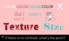 9 Do's and Don'ts of Typography