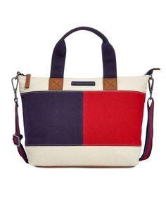 Tommy Hilfiger Flag Colorblock Shopper