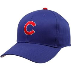 Chicago Cubs KIDS Royal Blue Basic Logo Adjustable Hat by '47 Brand by '47 Brand. $14.95. 65% Polyester / 35% Cotton. SIZE: Adjustable snap. Structured fit. Adjustable snap closure. Quality embroidery. Start your KIDS early with a Chicago Cubs adjustable cotton cap! Features:  Six panels with eyelets Officially licensed MLB product By '47 Brand