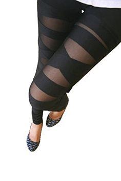 #FashionTrends SIZE:One Size #COLOR:Black DETAIL SIZE OF THIS DESIGN Length: 92cm Calf: 26-40cm Thigh: 38-50cm Waist: 56-80cm Please check the measurement chart ...