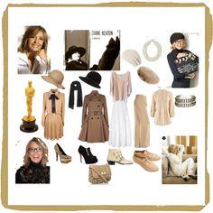 Diane Keaton Fashion by icorb on Polyvore featuring 120% Lino, Cecilia Pradomurion, Ted Baker, Melissa Odabash, Joseph, mel, Chloé, Ravel, JustFab and Red Herring