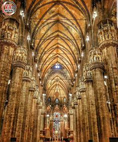MILANO  Navata del Duomo  ✈✈✈ Here is your chance to win a Free Roundtrip Ticket to Naples, Italy from anywhere in the world **GIVEAWAY** ✈✈✈ https://thedecisionmoment.com/free-roundtrip-tickets-to-europe-italy-naples/