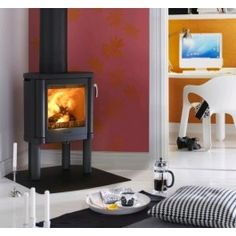 View the large range of wood burning stoves Glasgow available at Stove World Glasgow. We are the only stockists of Charnwood and Contura in Glasgow. Modern Wood Burning Stoves, Wood Stoves, Fireplace Gallery, Vintage Fireplace, John Wood, Wood Burner, Fireplace Mantels, Fireplaces, Small Rooms