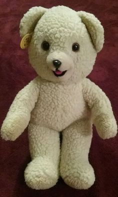 Vintage 1986 Lever Bros SNUGGLE Plush Bear Russ Berrie &Co 15 in #Snuggle