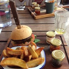 my inner world — nakedly: someone stabbed my burger // taken from...