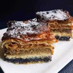 Međimurska gibanica | daliborce kuhinja Lasagna, Sweet Recipes, Food Photography, Recipies, Deserts, Dessert Recipes, Cooking Recipes, Sweets, Baking