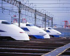 Japanese Bullet Trains Shinkansen 新幹線
