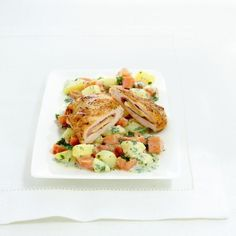 Kip cordon bleu Recept | Weight Watchers België