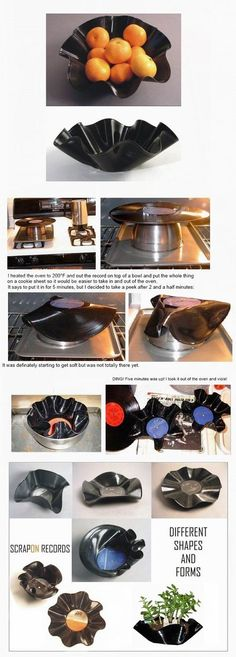 Scrap On Records - Endless Shapes & Forms (Not To Be Used as Dinnerware - Decor Purposes Only) Post from: 1&1 Internet AG