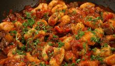 Gnocchi with Beef Ragu use 500g chuck, blade or rump