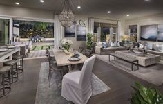 Would you give this space a LIKE, LOVE or WOW?! #home #newhome #homedecor #realestate