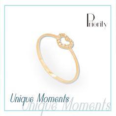 eaecc96e622d Anillo corazón oro 💛 ringoftheday  heartring  heart  giftforher   fashionjewelry  womensfashion