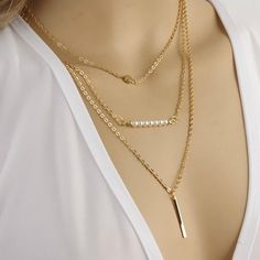 You will love layering these necklaces! They wear well with all your outfits and at this price you can afford to have more than one! Get some for your self and stock up on gifts throughout the year!