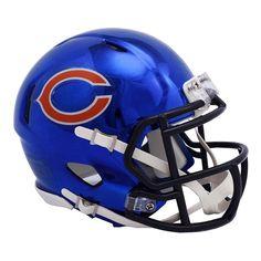 Chicago Bears Riddell Chrome Alternate Speed Mini Football Helmet ce4b9efe2