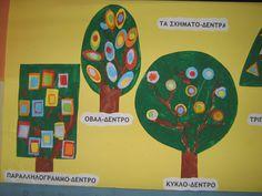 35ο Νηπιαγωγείο Περιστερίου.blog - Νέα και ανακοινώσεις του ... Preschool Math, Maths, Color Shapes, Art Projects, Colours, Education, Fall, Kids, Blog