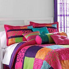 seventeen® ruffletta comforter set & accessories - jcpenney | for