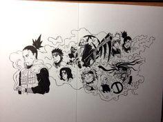 Naruto / Shikamaru / Hidan / Anime