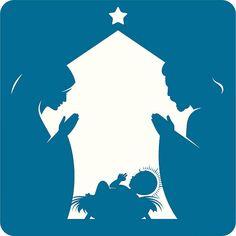 Natividad. - ilustración de arte vectorial