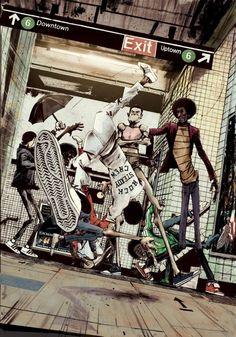 Rock Steady Crew Art ....hip hop instrumentals updated daily => http://www.beatzbylekz.ca