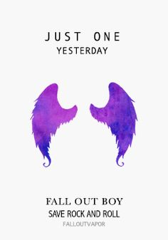 Fall Out Boy feat. Foxes - Just One Yesterday Lyrics ...