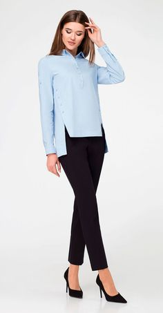 Buy a blouse in the online store Ð … - Outfits Frock Fashion, Women's Fashion Dresses, Hijab Fashion, Moda Chic, Minimal Fashion, Blouse Designs, Blouses For Women, Trendy Outfits, Shops