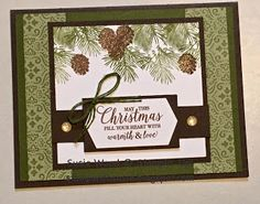 Stamp with Susie- I LOVE this Christmastime is Here Suite! Stamp with Susie- I LOVE this Christmastime is Here Suite! Christmas Rose, Stampin Up Christmas, Handmade Christmas, Christmas Crafts, Christmas Greenery, Xmas Cards, Diy Cards, Holiday Cards, Stamping Up Cards