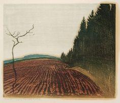 Erich Buchwald-Zinnwald, woodcut