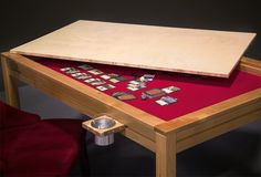 Drop Ship Card Table and other gaming tables....