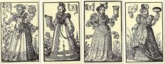 """Madame de Pompadour (Playing cards from """"The Book Trades"""" by Jost...)"""