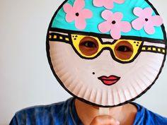 Manualidades para niños máscaras hechas con platos. Paper Plate MasksPaper ...  sc 1 st  Pinterest & DIY Paper Lion Mask | Lion mask Diy paper and Lions