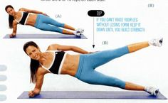 how to work your side abs