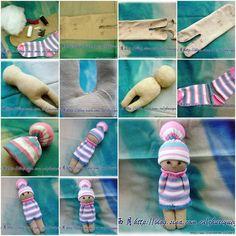 sock doll tutorial