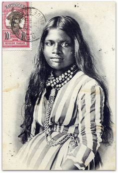 Vintage postcard and stamp from Martinique F.W.I. | Flickr - Photo Sharing