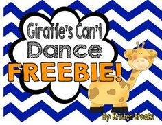 Most current Pic Giraffes Can't Dance Reading Response FREEBIE! Suggestions Dance and motion therapy is now an intrinsic part of numerous day-care features in German-speaking Book Activities, Preschool Activities, Teaching Resources, Giraffes Cant Dance, Leader In Me, Literacy Stations, Literacy Centers, Rhyming Words, Reading Response
