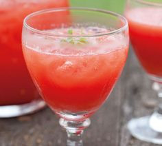 Watermelon Cooler This refreshing summer drink is mostly watermelon and lime juice – so it's almost a health tonic!