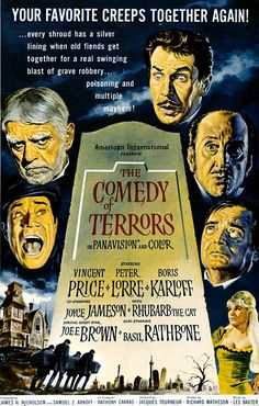 As a fan of classic movies, this is one of my favorites. Not meant to be frightening in the least, but still very, very good. Vincent Price's comedic timing is (as with all things) brilliant, and his chemistry with Peter Lorre is magic to watch. Boris Karloff plays an aging senile, and his lines are few but funny. This movie has earned a solid spot among my classic favorites.
